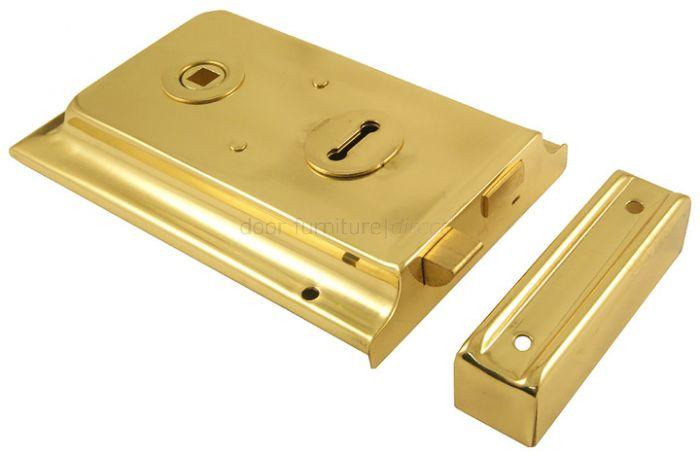 Brass Rimlock 6in x 4in