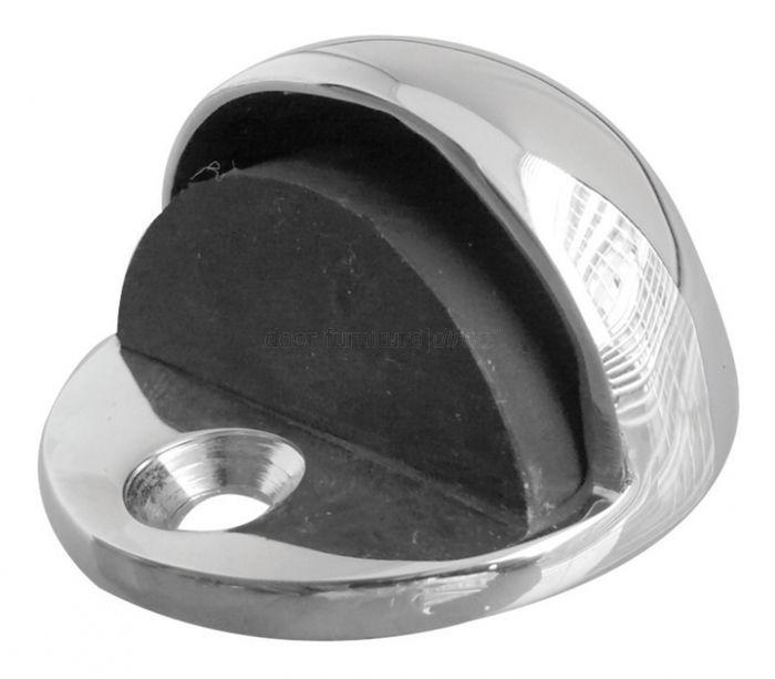 Chrome Oval Door Stop
