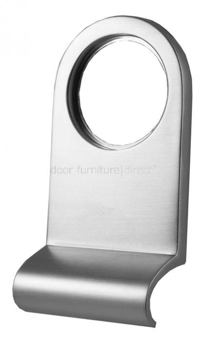 Satin Chrome Cylinder Pull