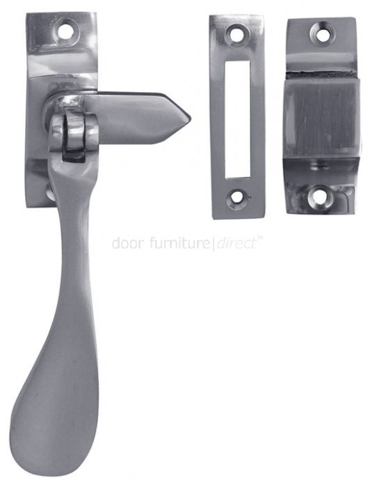 Chrome Mortice and Hook Plate Fastener