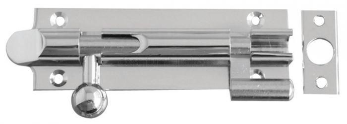 Chrome Necked Bell Bolt 150x32mm