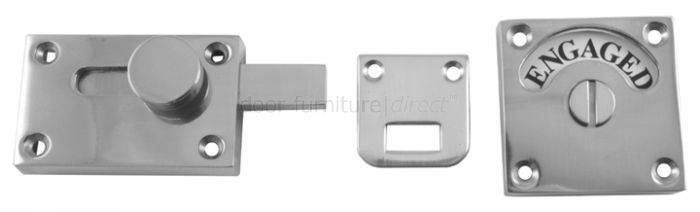 Polished Chrome Plated Brass Indicator Bolt
