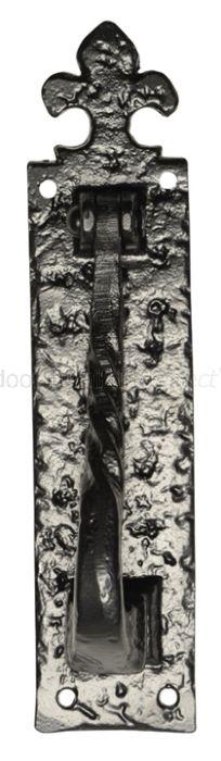 Black Antique Iron Rectangular Front Door Knocker 242x57mm 832