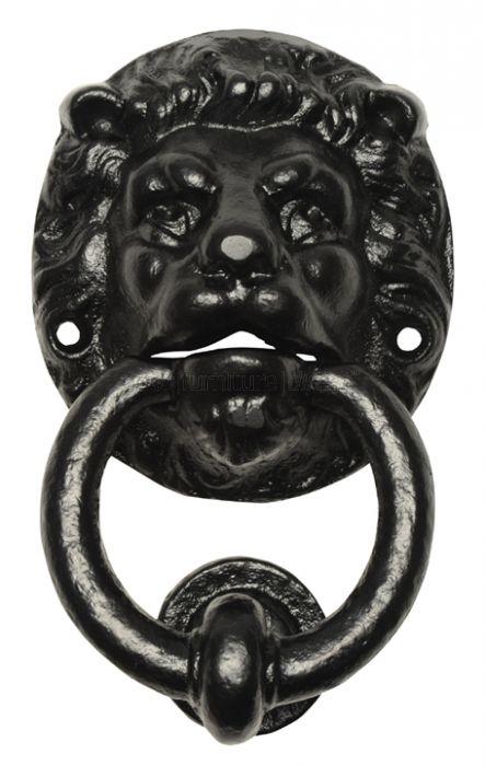 Antique Lion Head Door Knocker 896
