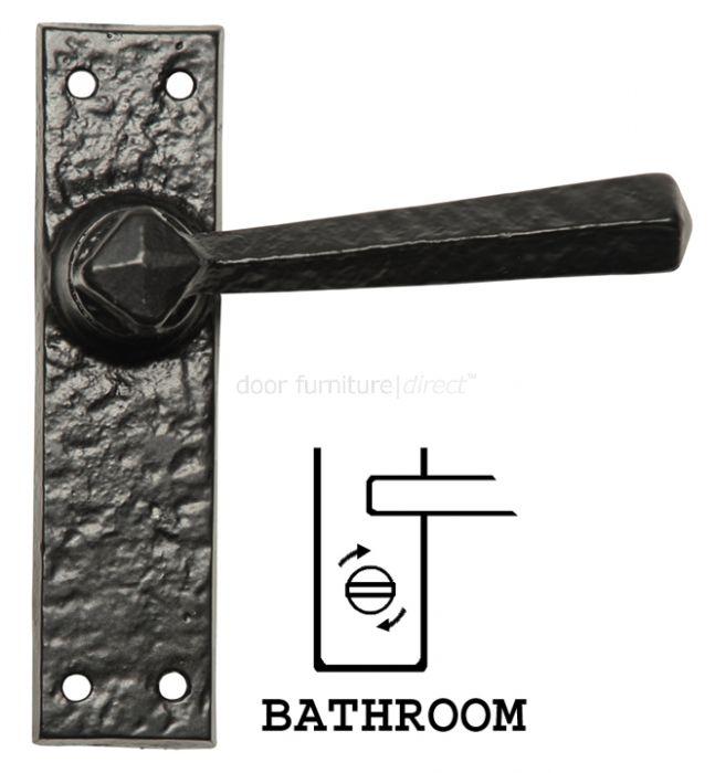 Antique Bathroom Door Handles 152x38 2445