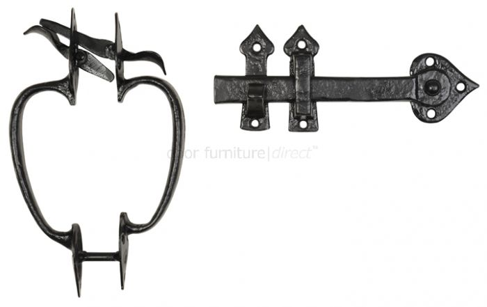 Antique Thumb Latch With Bow Handles 3625