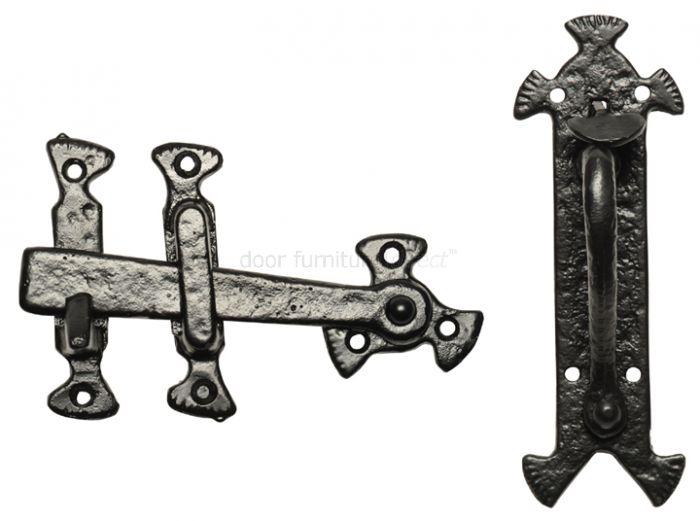 Antique Thumb Latch 190x63mm 3630