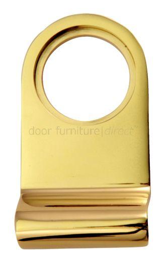 PVD None Tarnish Brass Radiused Cylinder Door Pull