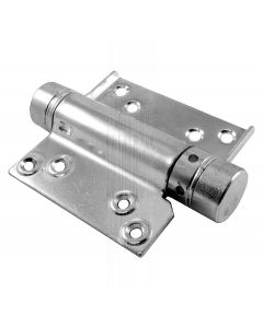 Zinc Plated Single Action Spring Hinges In Pairs