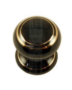 Black Gold Line Cabinet Knob