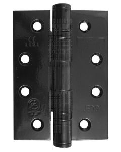 Black Stainless Steel Ball Race Hinges 4x3in (102x76x3mm) in Pairs
