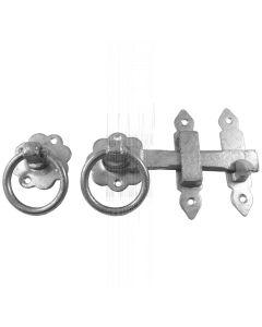 Galvanised Iron Door or Gate Latch 3258