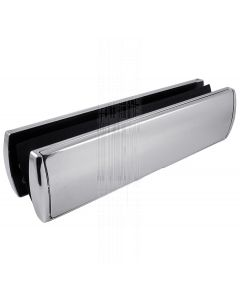 Prostyle Telescopic Letter Plate Chrome 310x76mm