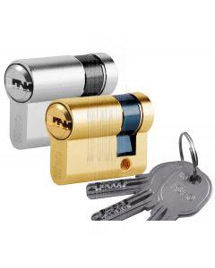 R6 6 Pin Single Key Euro Cylinder 30x10mm to 60x10mm