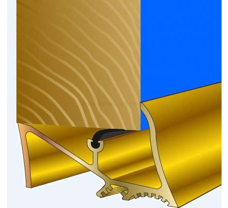 Stormguard Superseal Threshold Sill 914mm in Gold Effect