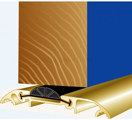 Stormguard Access Threshold CDX 838mm in Gold Effect