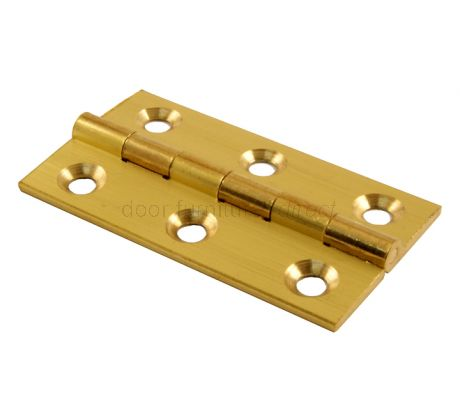 Brass Butt Hinges 2x1.1/8in (51x29mm)