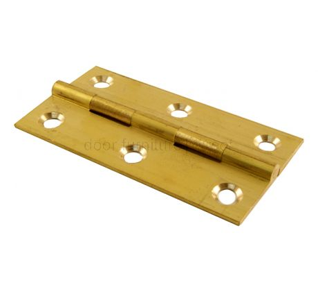 Brass Butt Hinges 3x1.5/8in (76x41mm)