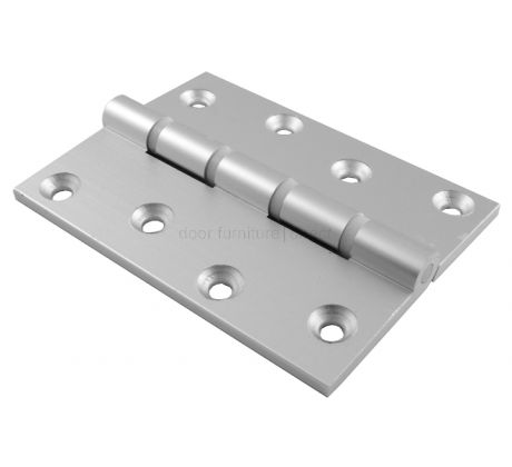Aluminium Butt Hinges Washered 4x3in (100x75mm)