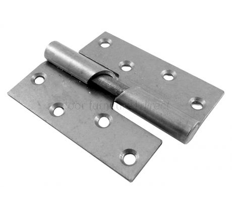 Rising Butt Hinge Steel Right Hand 4in (100mm) In Pairs