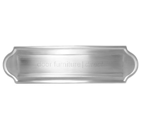 Satin Chrome Lift Up Gravity Flap Letter Box 11x3in (280x78mm)