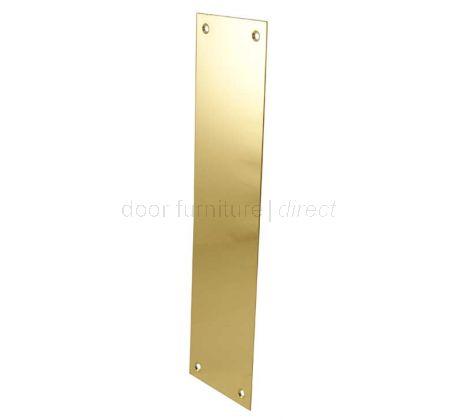 Brass Finger Plate 305 x 76mm