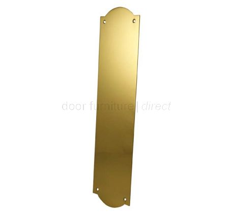 Brass Flat Shaped Finger Plate