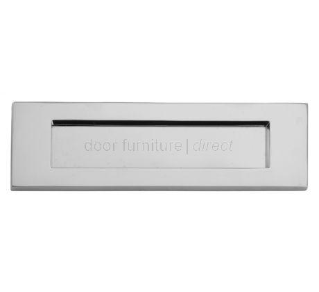 Chrome Letter Plate 305x96mm