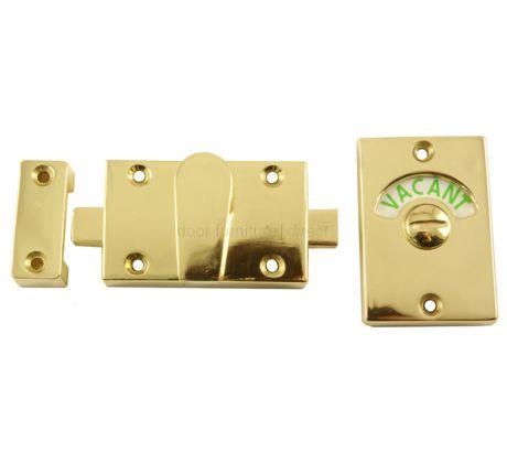 Brass Plated Zinc Alloy Indicator Bolt