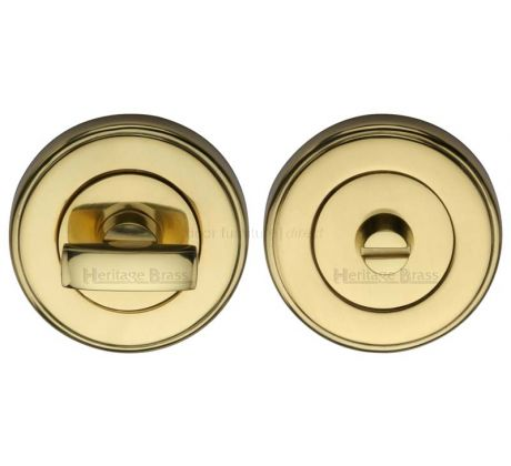 Polished Brass Thumb Turn and Emergency Release 50mm