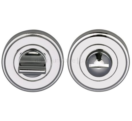 Polished Chrome Thumb Turn and Release 50mm