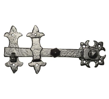 Black Antique Iron Door or Gate Latch 254mm 855