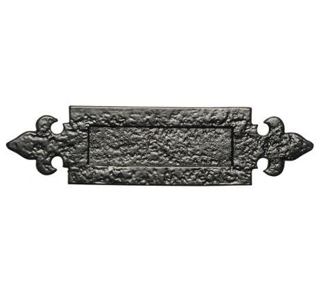 Antique Letter Plate 298x78mm 1073
