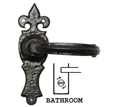 Antique Bathroom Door Handles 152x50 2448
