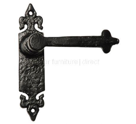 Antique Lever Latch Door Handles 177x38mm 2496