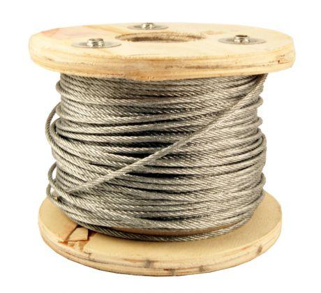 Steel Wire Rope Galvanised 3mm in Metres