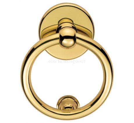 Brass Ring Door Knocker 134mm