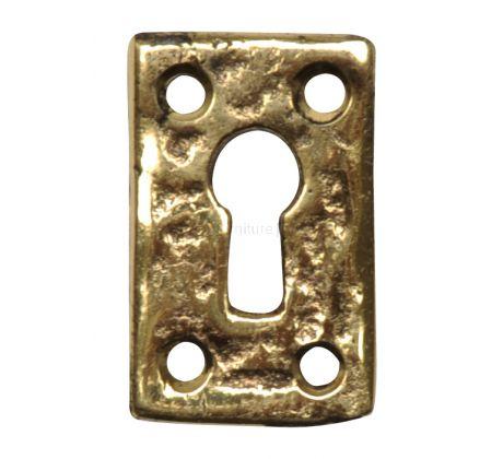 Antique Style Brass Escutcheon 1502M