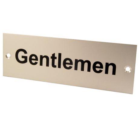 SAA Nameplate GENTLEMEN