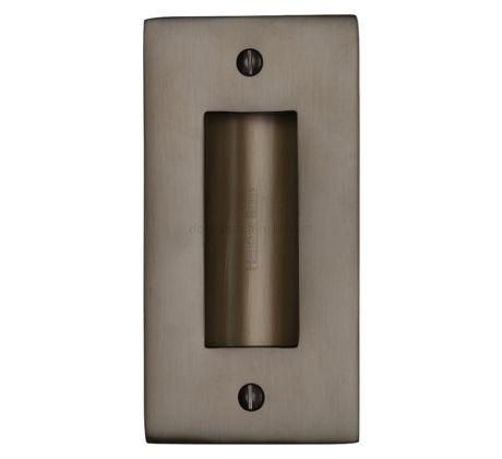 Matt Bronze Flush Pull 102mm (4in)
