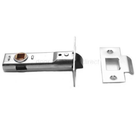 Union Tubular Mortice Latch Bright Zinc 3in (80mm)