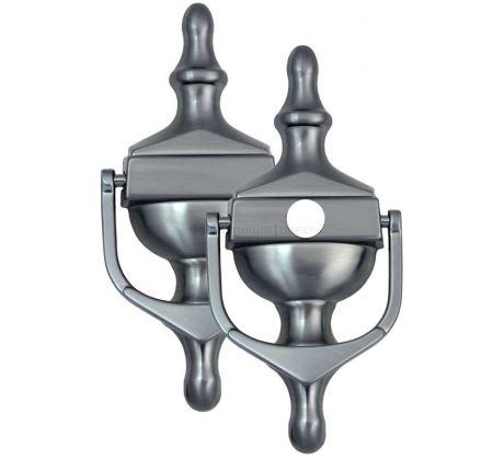 Fab&Fix Victorian Hardex Graphite Urn Knocker 162x76mm