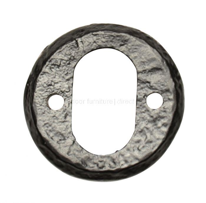 Antique Oval Escutcheon 1402