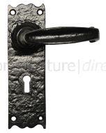 Antique Lever Lock Door Handles 152x47mm 2454