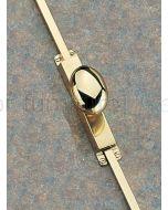 Knob Operated Brass Espagnolette Bolt