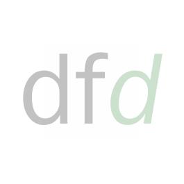 DND Polished Chrome Vita Lever on Rose