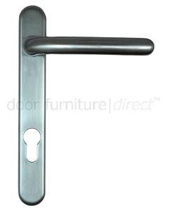 Fab&Fix Windsor Hardex Graphite Door Handles 92mm Centres
