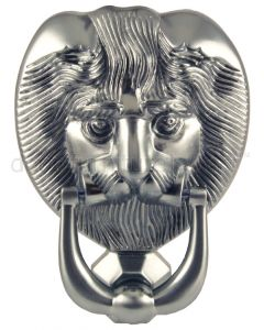 Fab&Fix Hardex Graphite Lion Head Door Knocker