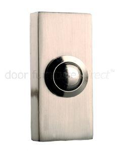 Brushed Nickel Surface Bell Push
