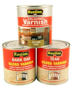 Rustins Gloss Varnish 500ml